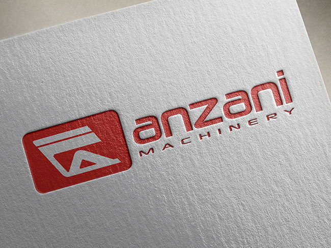 Restyling logo Anzani Machinery