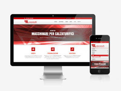 Sito web Anzani Machinery